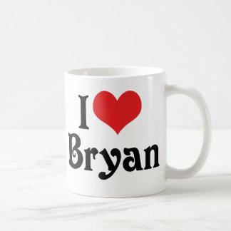 I Liebe Bryan Kaffeetasse