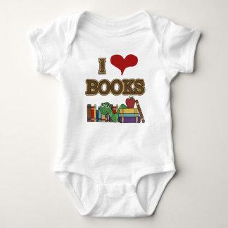 I Liebe-Bücher Baby Strampler