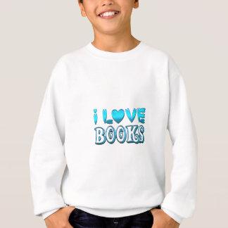 I Liebe-Bücher Sweatshirt