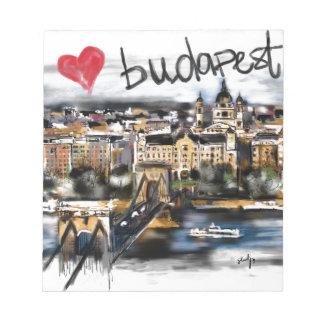 I Liebe Budapest Notizblock