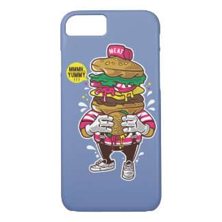 I Liebe-Burger-glatter Telefon-Kasten iPhone 8/7 Hülle