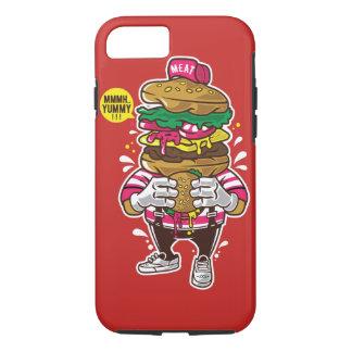 I Liebe-Burger-starker Telefon-Kasten iPhone 8/7 Hülle