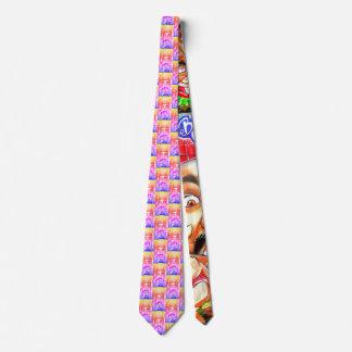 I Liebe-Burger - Straße-Kunst Burger-Tür-Krawatte Krawatte
