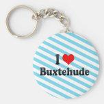 I Liebe Buxtehude, Deutschland Schlüsselanhänger