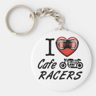 I Liebe-CaféRacers Schlüsselanhänger