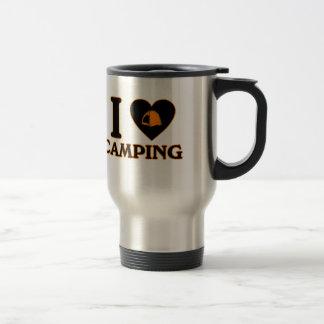 I Liebe-Camping Reisebecher