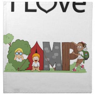 I Liebe-Camping Serviette