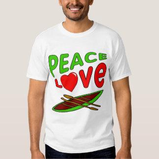 I Liebe Canoe Tshirts