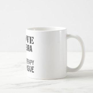 I Liebe Capoeira, weil Therapie teuer ist Kaffeetasse