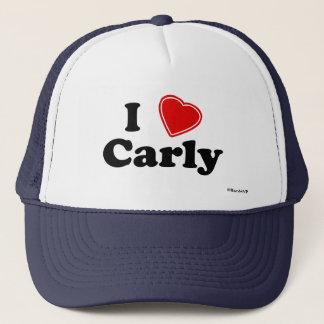 I Liebe Carly Truckerkappe