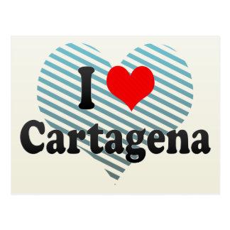 I Liebe Cartagena, Kolumbien Postkarte