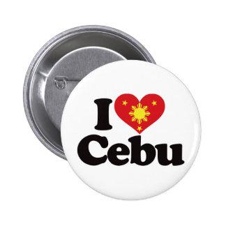 I Liebe Cebu Anstecknadel