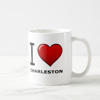 I LIEBE CHARLESTON, SC - SOUTH CAROLINA KAFFEETASSE