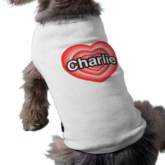 I Liebe Charlie. Liebe I Sie Charlie. Herz Top