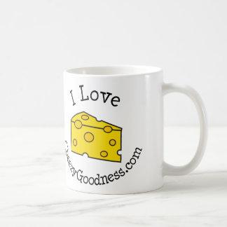 I Liebe CheezyGoodness.com Kaffeetasse