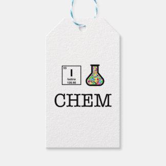 I Liebe-Chemie Geschenkanhänger