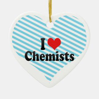 I Liebe-Chemiker Ornament