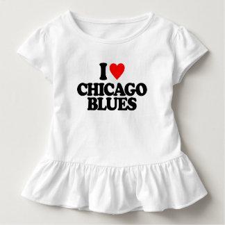 I LIEBE-CHICAGO-BLUES KLEINKIND T-SHIRT