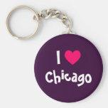 I Liebe Chicago Schlüsselbänder