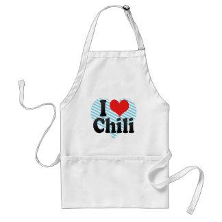 I Liebe-Chili Schürzen