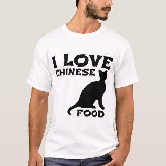I LIEBE-CHINESE-NAHRUNG T-Shirt