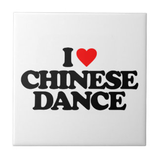 I LIEBE-CHINESE-TANZ FLIESE