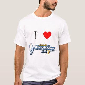 I Liebe ClassicChristian247.com - T - Shirt