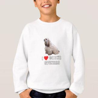 I Liebe-Cockerspaniel Sweatshirt