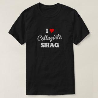 I Liebe-Collegenoppe-Neigung T-Shirt