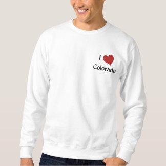 I Liebe-Colorado gesticktes Shirt