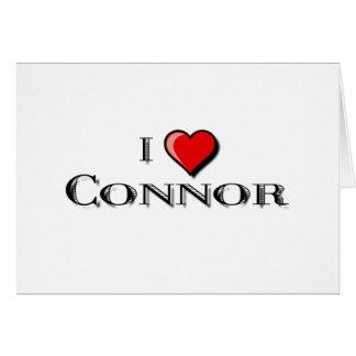 I Liebe Connor Karte