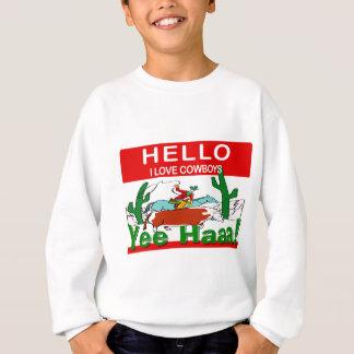 I Liebe-Cowboys Sweatshirt