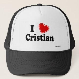 I Liebe Cristian Truckerkappe