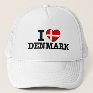 I Liebe Dänemark Truckerkappe