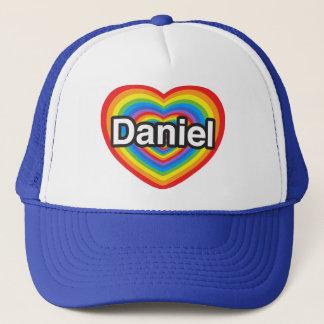 I Liebe Daniel. Liebe I Sie Daniel. Herz Truckerkappe
