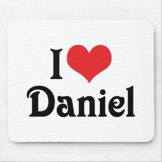 I Liebe Daniel Mousepads