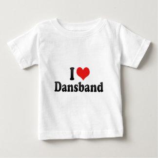 I Liebe Dansband Baby T-shirt