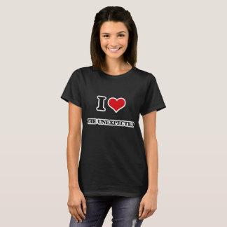 I Liebe das unerwartete T-Shirt