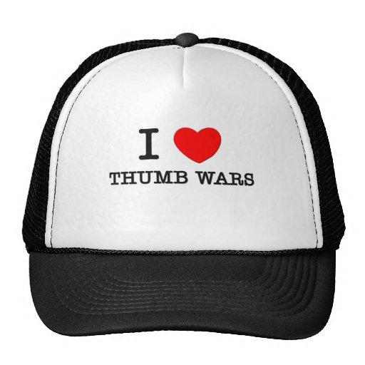 I Liebe-Daumen-Kriege Kult Cap