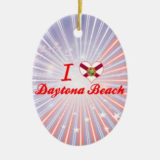 I Liebe Daytona Beach, Florida Weinachtsornamente