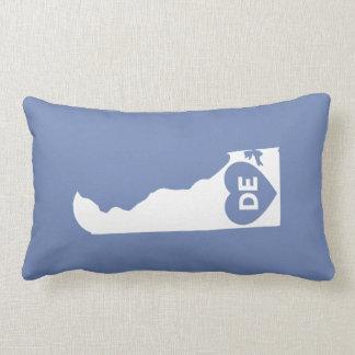 I Liebe-Delaware-Staatlumbar-Kissen Lendenkissen