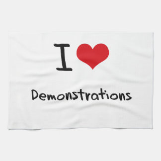 I Liebe-Demonstrationen Küchenhandtücher