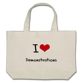 I Liebe-Demonstrationen Taschen