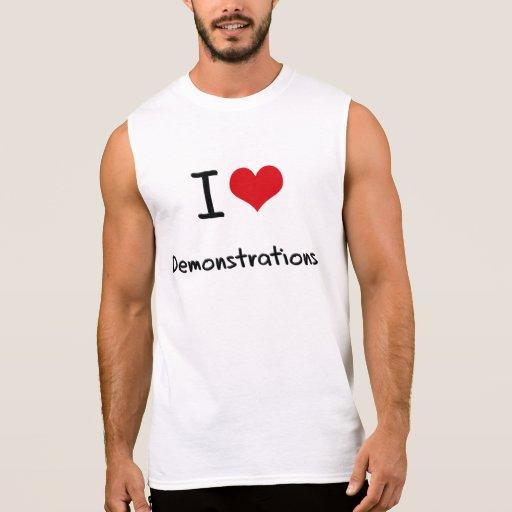 I Liebe-Demonstrationen Tshirt