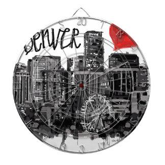 I Liebe Denver Dartscheibe