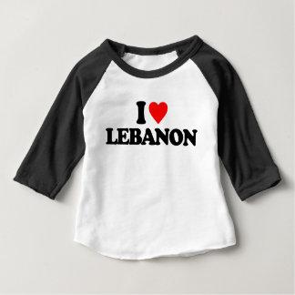 I LIEBE DER LIBANON BABY T-SHIRT
