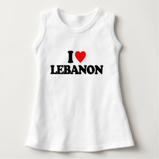 I LIEBE DER LIBANON KLEID