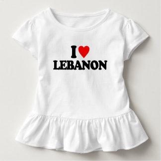 I LIEBE DER LIBANON KLEINKIND T-SHIRT