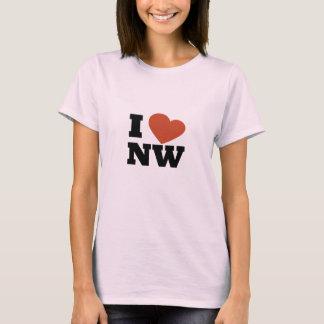 I Liebe der Nordwesten T-Shirt