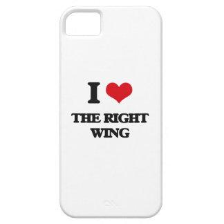 I Liebe der rechte Flügel iPhone 5 Hülle